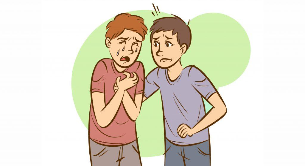 چرا به هنگام حمله پانیک قفسه سینه درد می گیرد؟